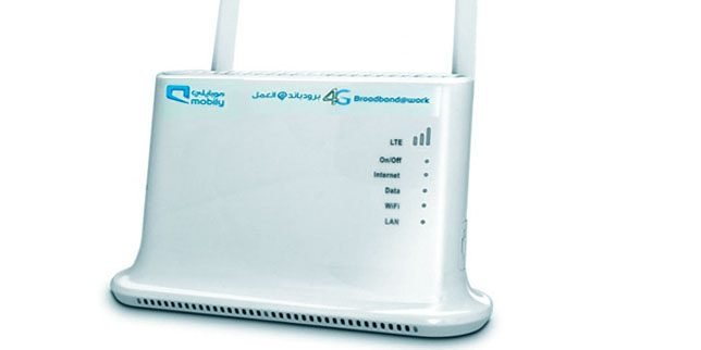 How to unlock mobily 4G LTE Router (QDC Model)