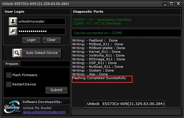 How to unlock e5573Cs-609 Airtel