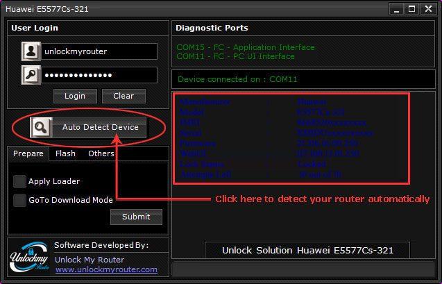 How to unlock Telenor E5577Cs-321 4G Router