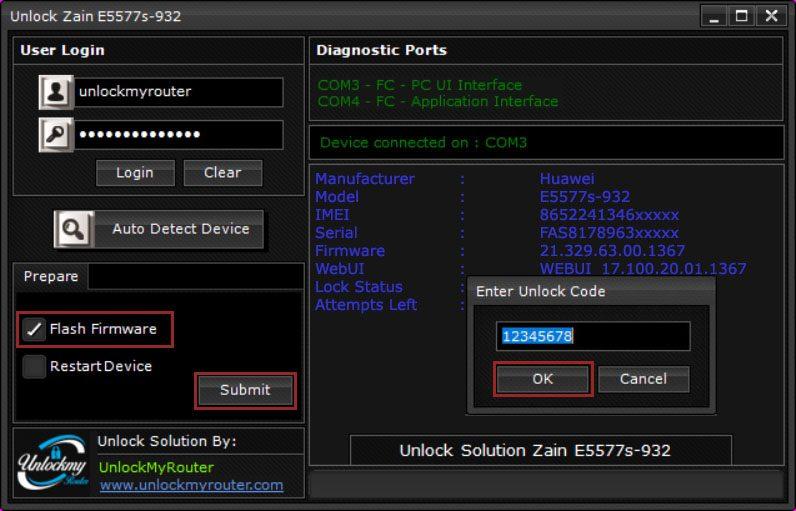 Unlock Zain e5577s-932 new 21.327.62.00.1367