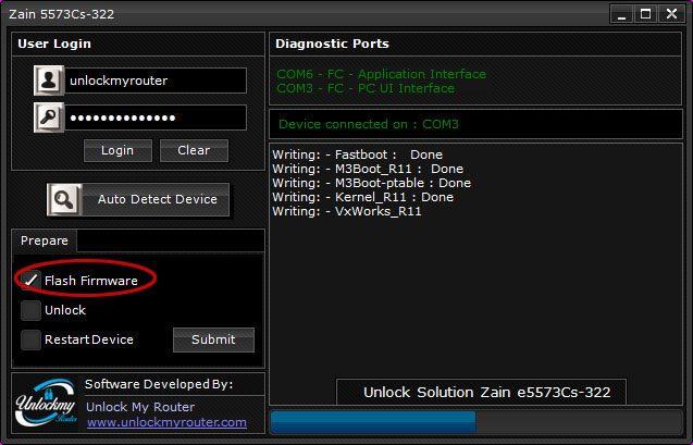 Unlock Zain e5573Cs-322 without unscrewing