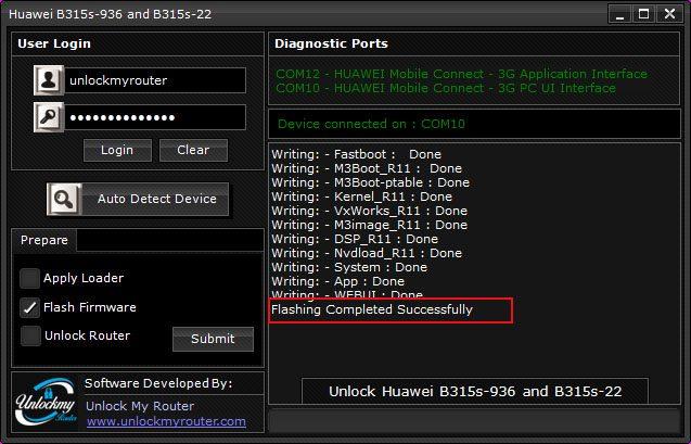 unlock Zain B315s-22 and B315s-936 Router