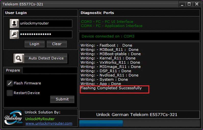 Unlock E5777Cs-321 German Telecom Router