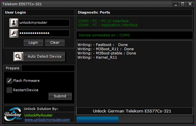 Unlock E5777Cs-321 German Telecom Router