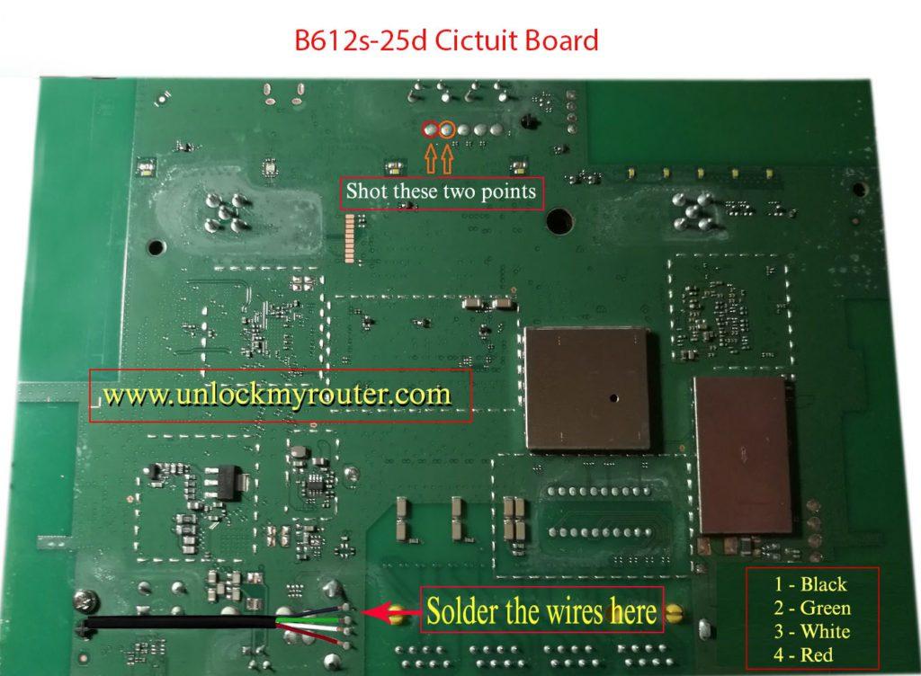 Unlock Huawei B612s-25d