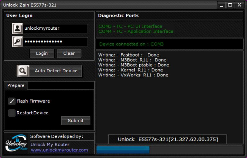 Unlock Zain E5577s-321