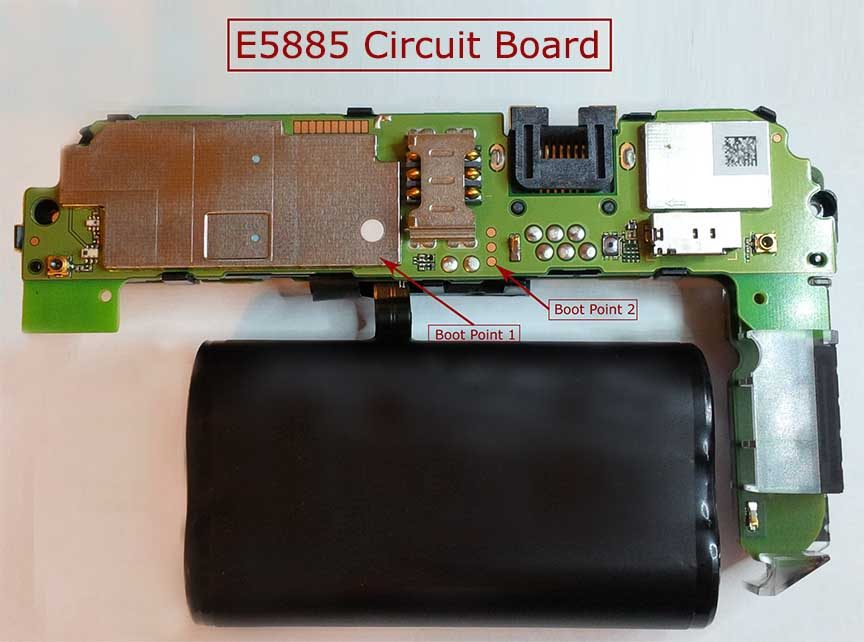 E5885Ls-93a Boot Points