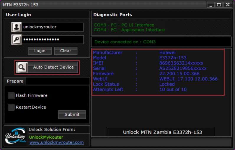 MTN E3372h-153